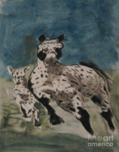 Appaloosa Drawing - Appaloosa by Patries Van dokkum