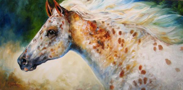 Painting - Appaloosa Spirit 3618 by Marcia Baldwin
