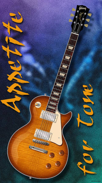 Guns And Roses Wall Art - Digital Art - Appetite For Tone by WB Johnston