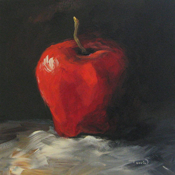 Wall Art - Painting - Apple 01 by Torrie Smiley