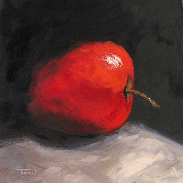 Wall Art - Painting - Apple 02 by Torrie Smiley
