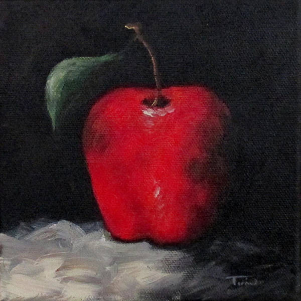Wall Art - Painting - Apple 03 by Torrie Smiley