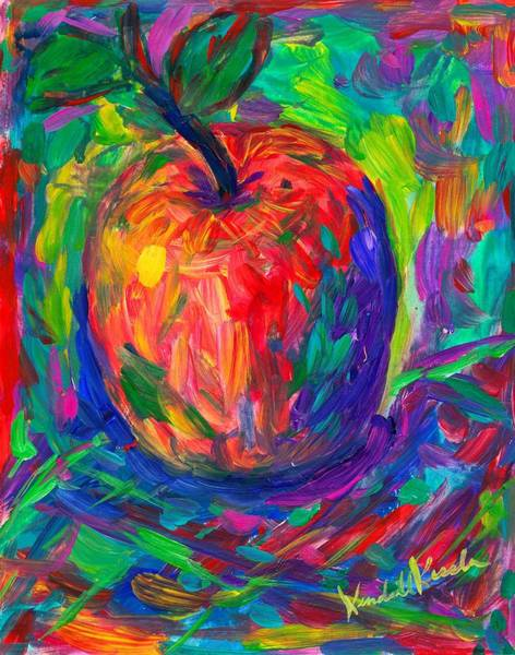 Painting - Apple A Day by Kendall Kessler