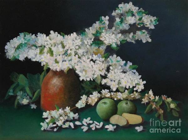 Painting - Apple Blossom Time by Bob Williams