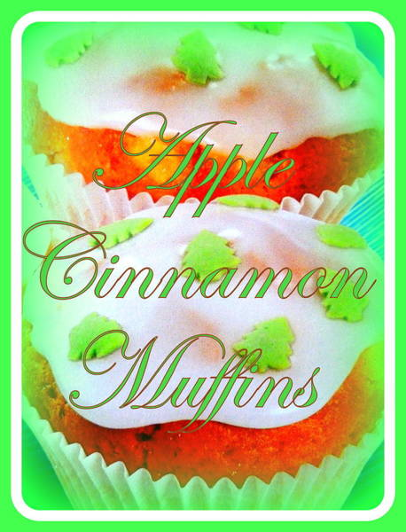 Icing Digital Art - Apple Cinnamon Muffins by The Creative Minds Art and Photography