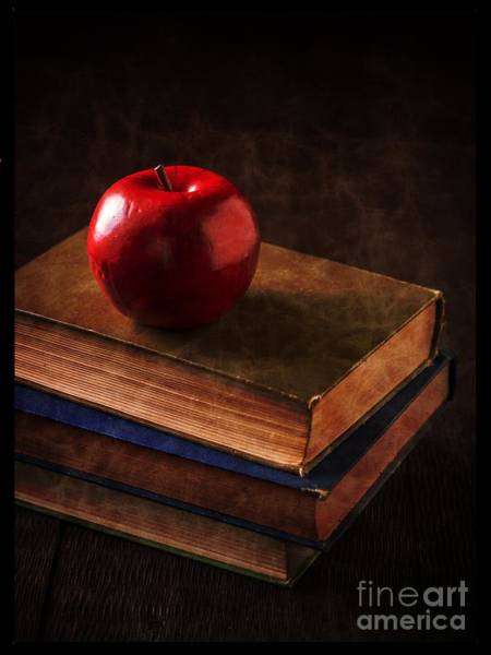 Photograph - Apple For Teacher by Edward Fielding