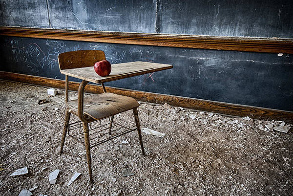 Photograph - Apple For The Teacher by Ghostwinds Photography