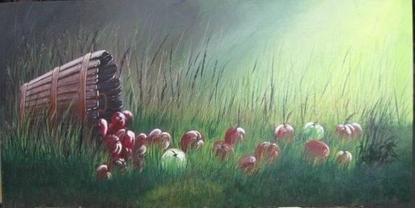 Painting - Apple Harvest by Lorraine Bradford