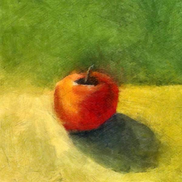 Wall Art - Painting - Apple Still Life No. 98 by Michelle Calkins