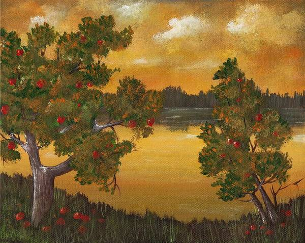 Painting - Apple Sunset by Anastasiya Malakhova