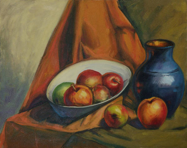 Painting - Apples Apples by Konnie Kim