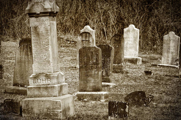 Photograph - Apples Church Cemetery by Joan Carroll