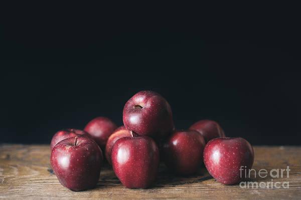 Red Apple Photograph - Apples by Viktor Pravdica