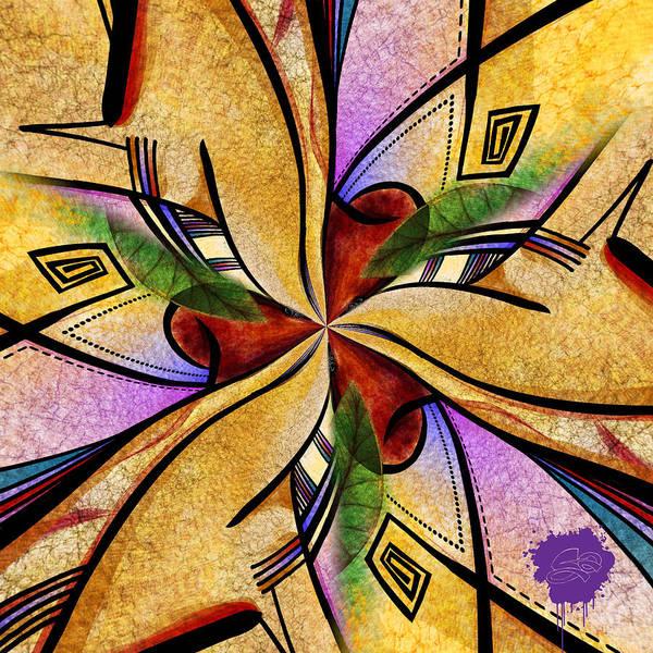 Digital Art - Applied Within by Lisa Schwaberow