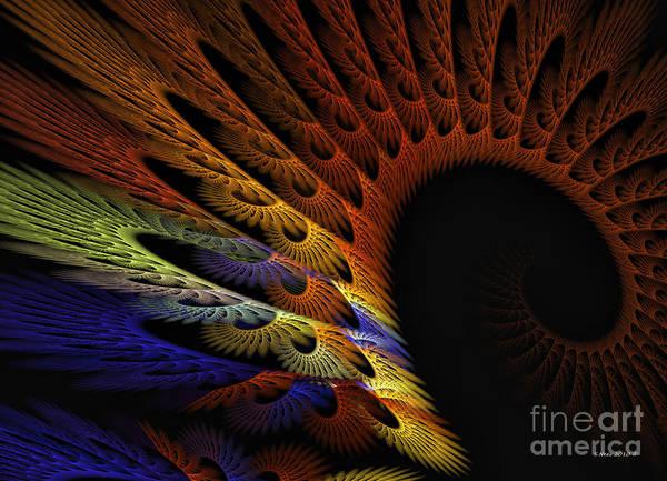 Crochet Digital Art - Applique by Shari Nees