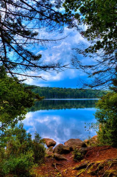 Photograph - Approaching Bubb Lake by David Patterson
