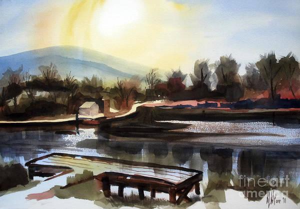 Painting - Approaching Dusk II by Kip DeVore