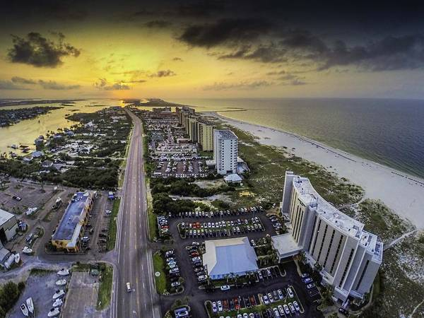 Digital Art - Approaching Gulf Shores Storm by Michael Thomas