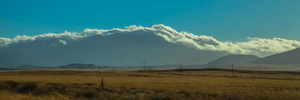 Photograph - Grassland Approaching Humphreys Peak by Ed Gleichman