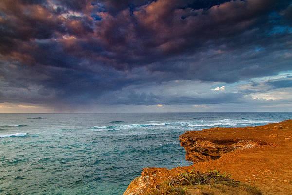 Mahaulepu Beach Photograph - Approaching Rain   by Roger Mullenhour
