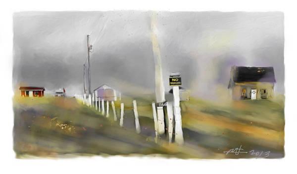 Prince Edward Island Painting - Approaching Storm Northwest Cape P.e.i by Bob Salo
