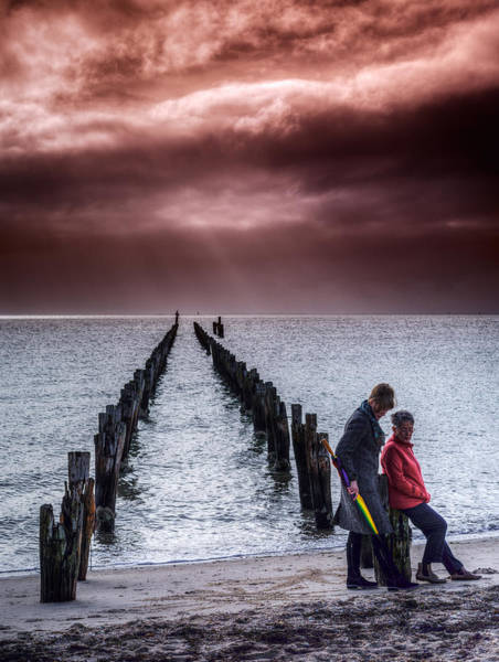 Photograph - Approaching Storm by Russell Brown