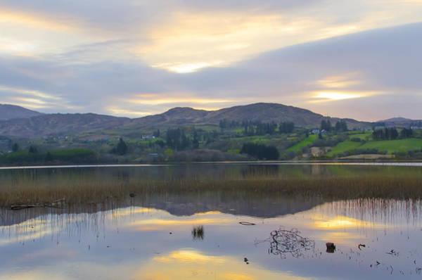 Donegal Digital Art - April In Donegal - Lough Eske by Bill Cannon