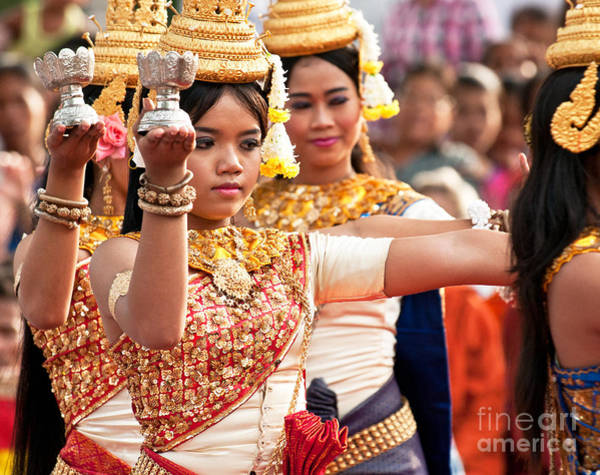 Photograph - Apsara Dancer 04 by Rick Piper Photography
