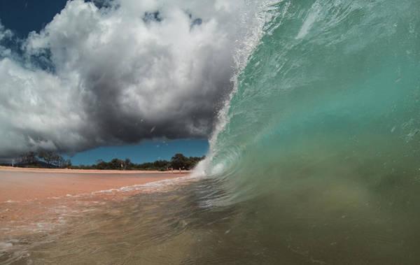 Photograph - Aqua Crush by Brad Scott