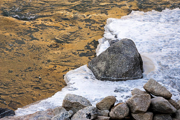 Photograph - Golden Water by Hitendra SINKAR
