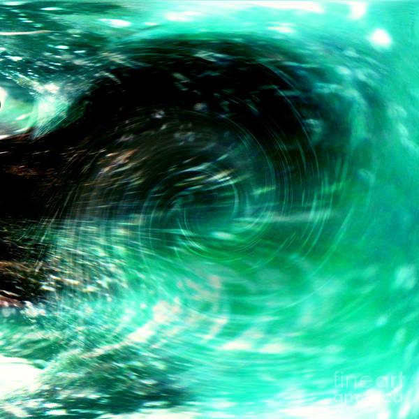 Wall Art - Photograph - Aqua Portal Two by Merice Ewart