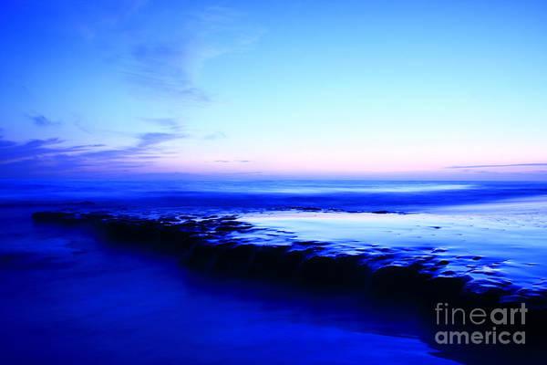 Photograph - Swamis Beach Sunset by John F Tsumas