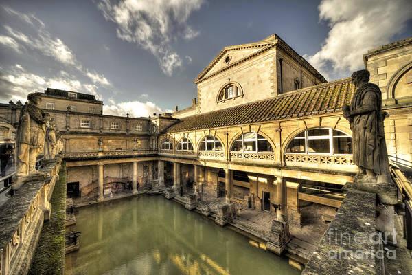 Bath Abbey Photograph - Aquae Sulis  by Rob Hawkins