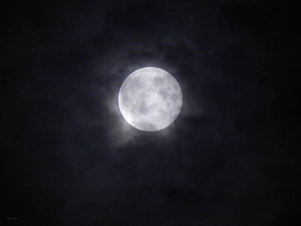 Photograph - Aquarian Supermoon August 10 2014 by Wild Thing