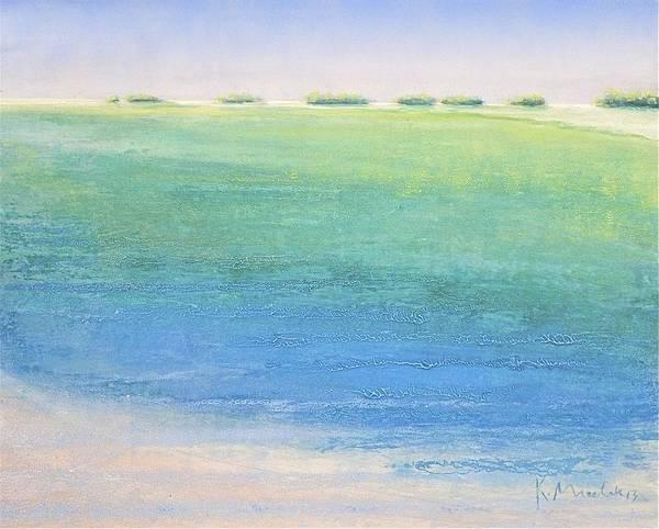 Painting - Aquas Atoll by Kaata    Mrachek