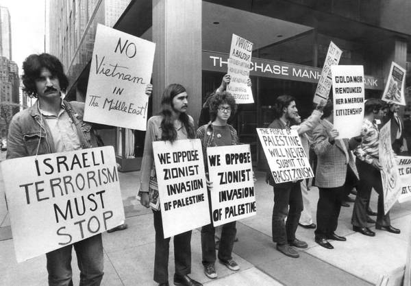 Demonstrators Photograph - Arab Demonstrators In Ny by Underwood Archives