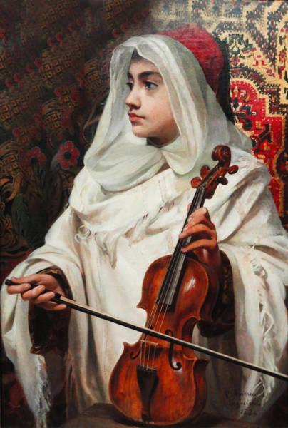 Arab Digital Art - Arab Fiddler by Pedro Americo