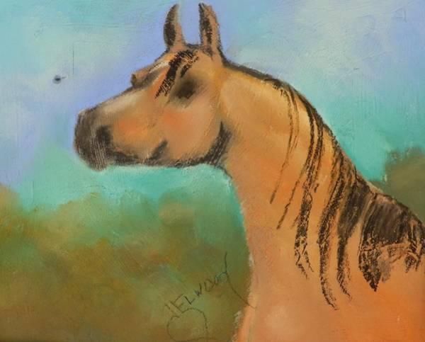 Elwood Blues Painting - Arabian by Jann Elwood
