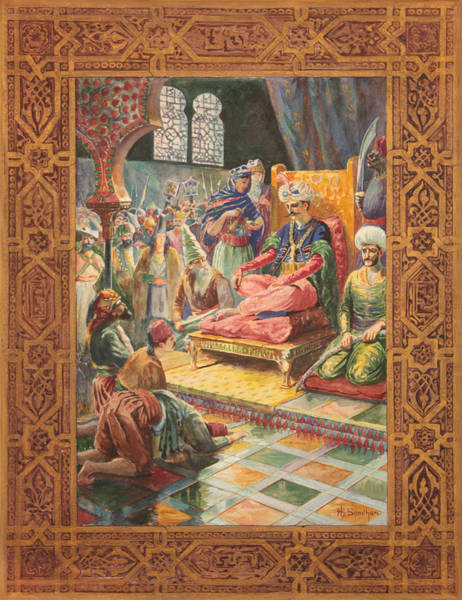 Forty Painting - Arabian Nights H J Sandham by Paul Ashby Antique Paintings