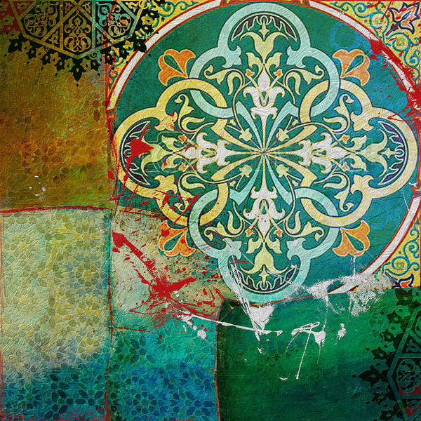 Expo Wall Art - Painting - Arabic Motif 01 by Corporate Art Task Force