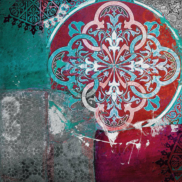 Expo Wall Art - Painting - Arabic Motif 01b by Corporate Art Task Force