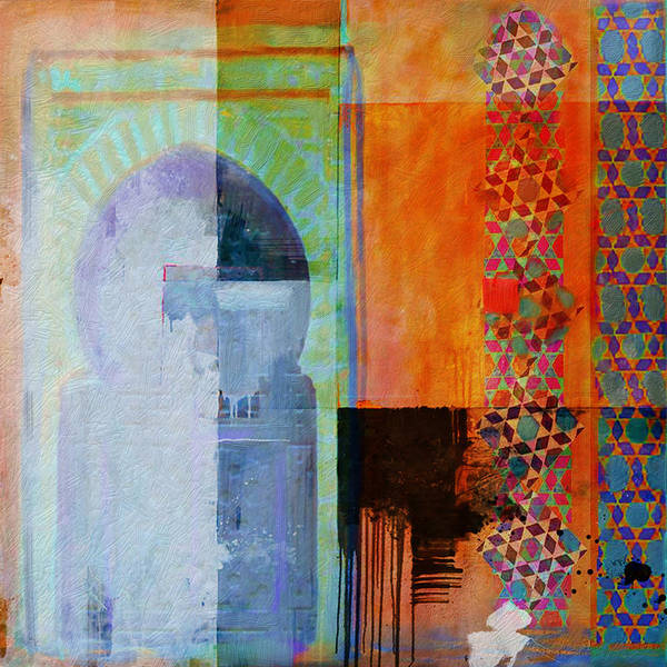 Expo Wall Art - Painting - Arabic Motif 10 by Corporate Art Task Force