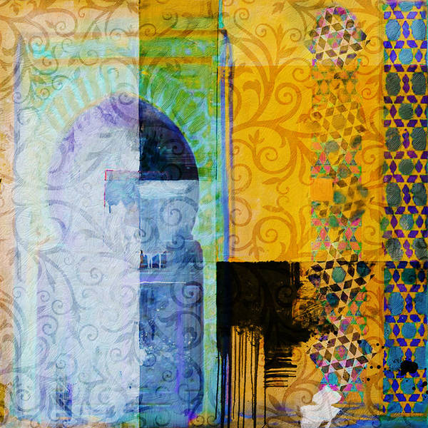 2020 Wall Art - Painting - Arabic Motif 10c by Corporate Art Task Force