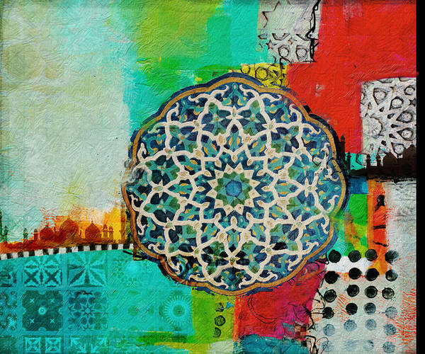 2020 Wall Art - Painting - Arabic Motif 7b by Corporate Art Task Force