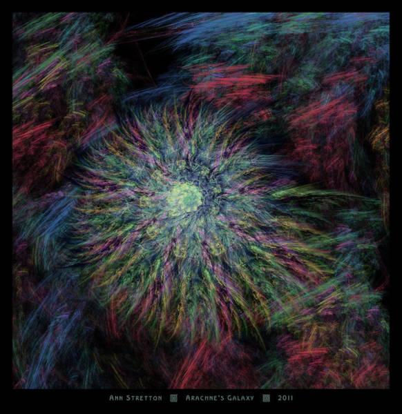 Arachne's Galaxy  Art Print