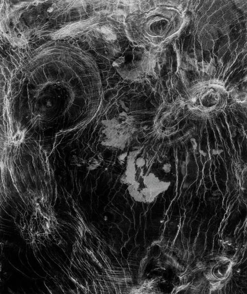 Imagery Photograph - Arachnoids In Fortuna Regio by Nasa/science Photo Library