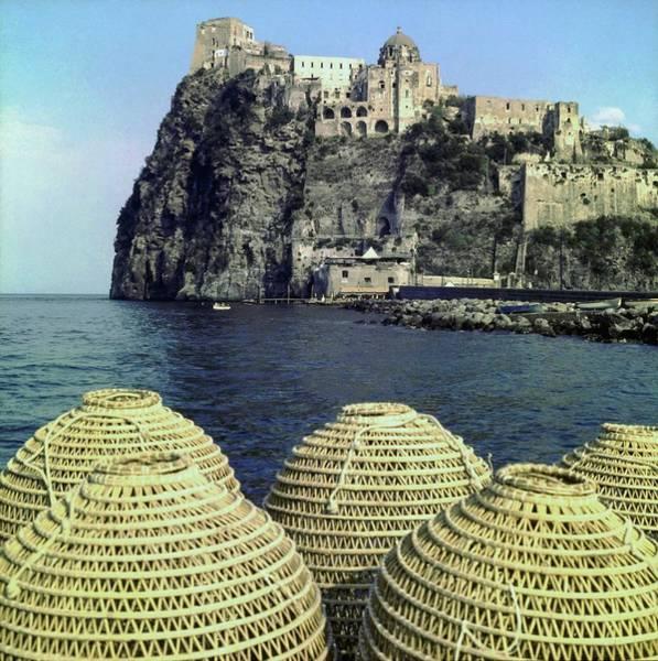 Landmark Photograph - Aragonese Castle On Ischia by Horst P. Horst