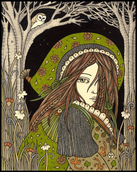 Aran Art Print by Anita Inverarity