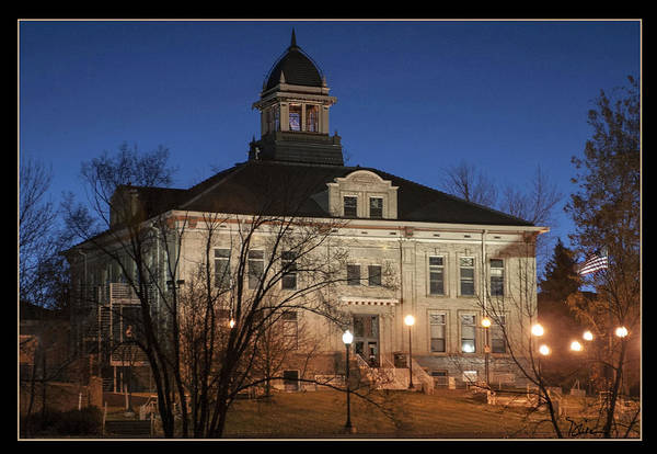 Arapahoe County Wall Art - Photograph - Arapahoe Courthouse In Littleton Colorado by Peggy Dietz