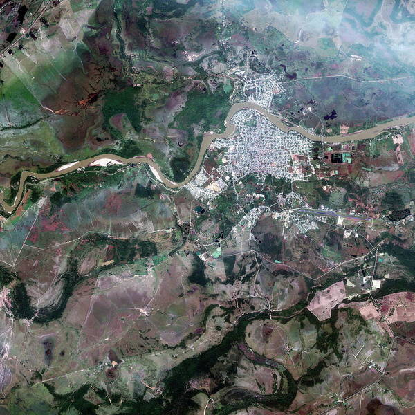 Colombia Photograph - Arauca by Geoeye/science Photo Library